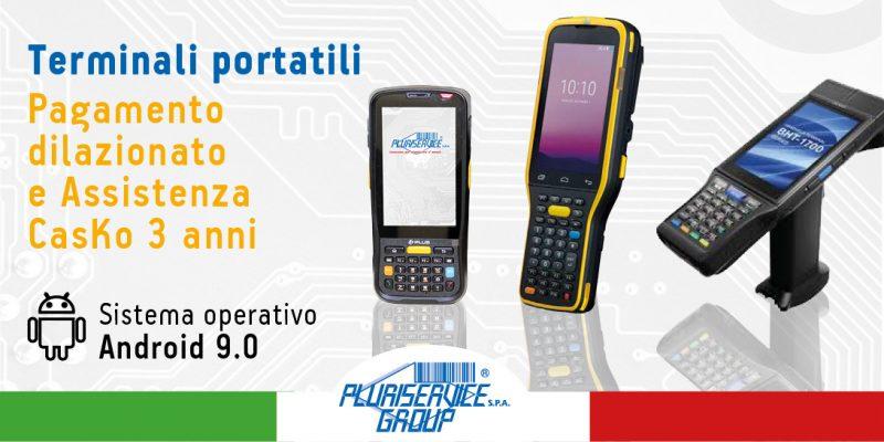 terminali portatili android - pagamento dilazionato e assistenza Casko
