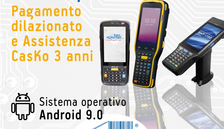 Terminali portatili Android in promozione