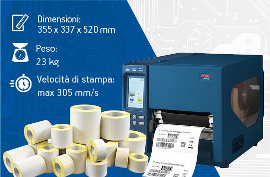 Stampanti per etichette industriali - APIX 600 in promozione