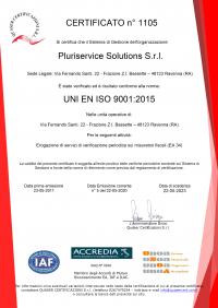 PLURISERVICE SOLUTIONS - ISO 9001-2015 ITA