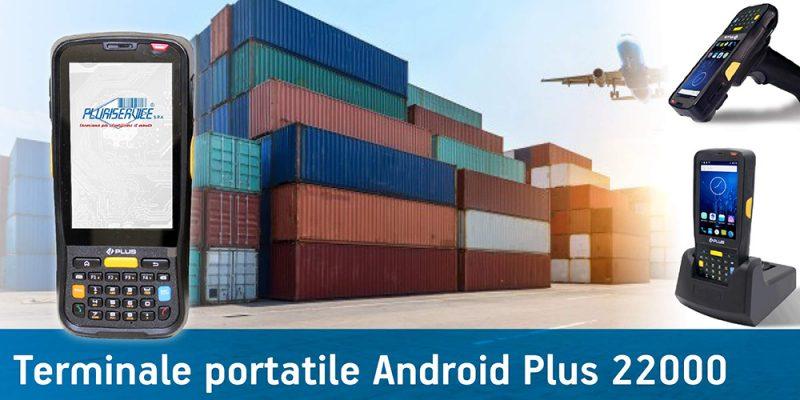 Plus 22000 - terminale portatile android