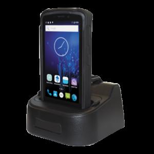 terminale portatile android plus 90 con culla di ricarica