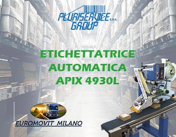 Euromovit si rinnova con l'etichettatrice automatica APIX 4930L