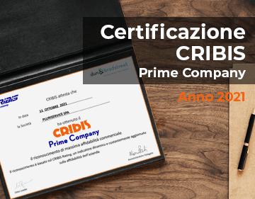Certificazione CRIBIS – Pluriservice, eccellenza dell'affidabilità commerciale