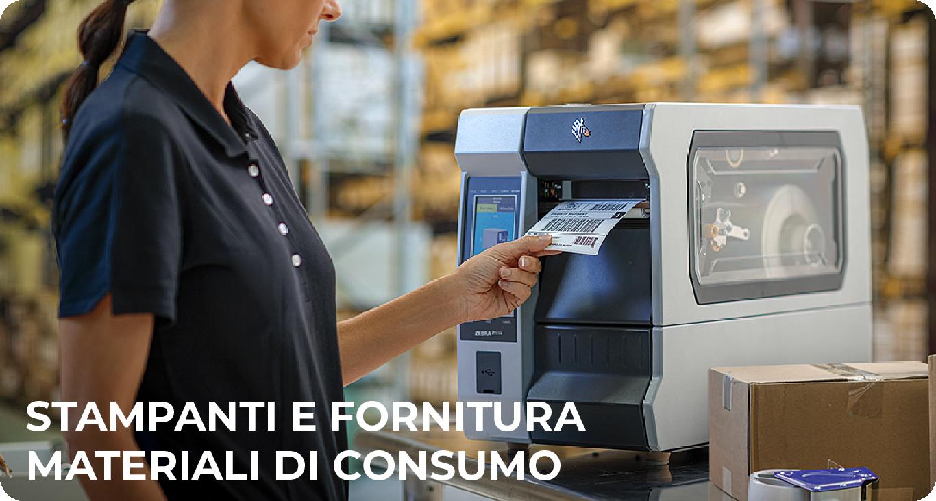 stampanti e fornitura materiali di consumo